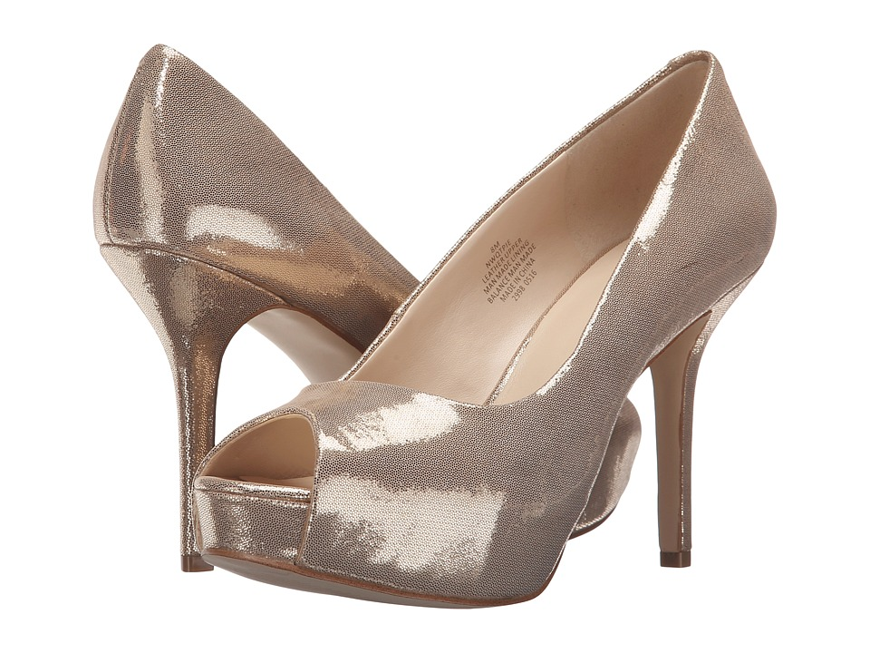 Nine West - Qtpie (Medium Gold Metallic) Women's Shoes