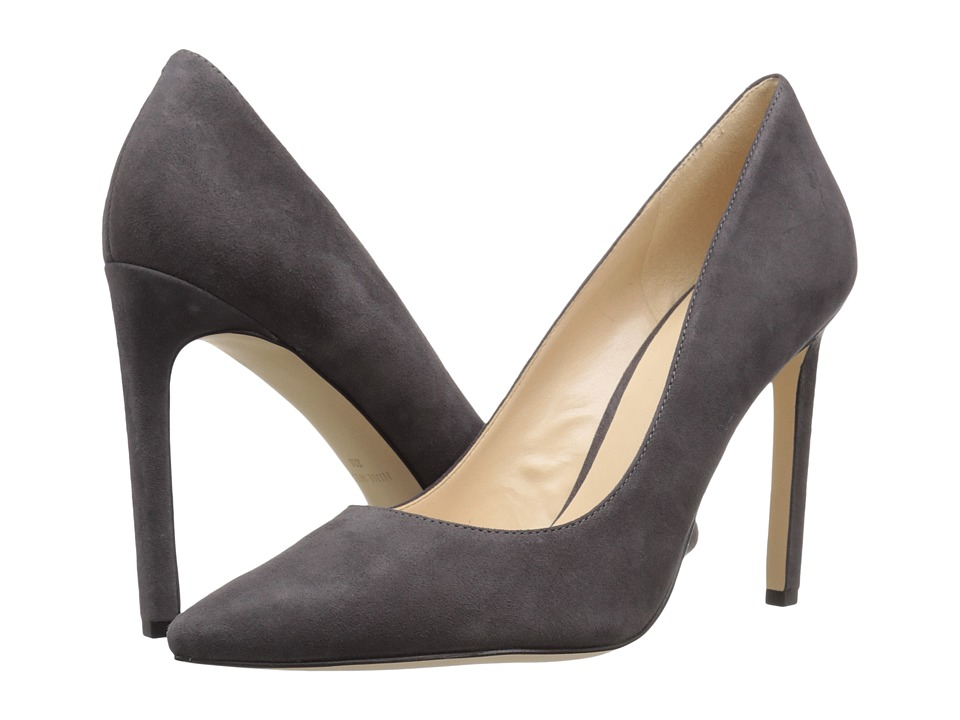 Nine West - Tatiana (Dark Grey Suede) High Heels
