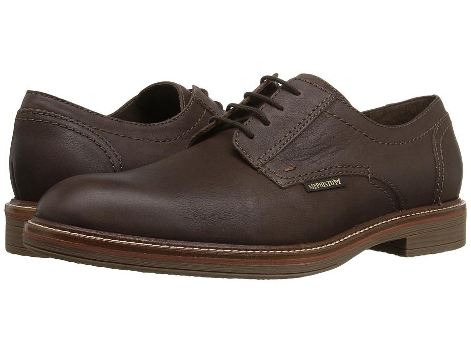 Mephisto - Waino (Dark Brown Kansas) Men's Shoes