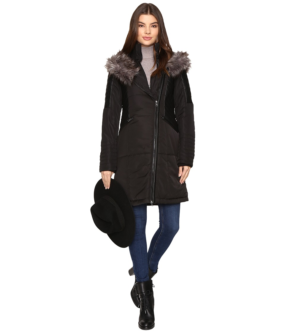 ONLY - New Kathryn Nylon Coat (Black) Women's Coat
