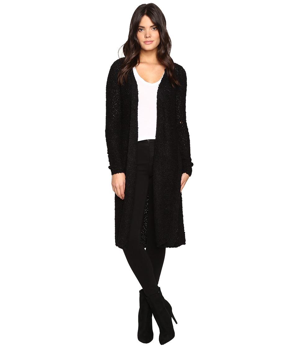 ONLY - New Zadie Long Cardigan (Black) Women's Sweater