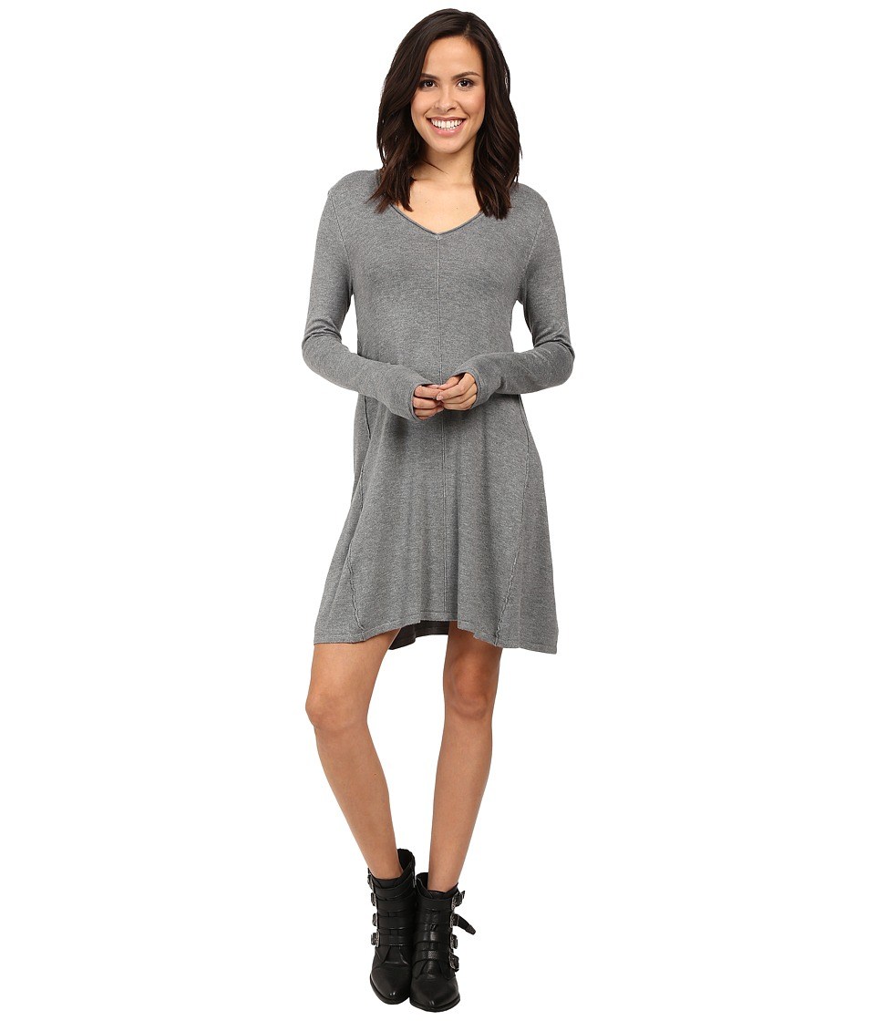 ONLY - Malaga A-Shape Dress (Medium Grey Melange) Women's Dress