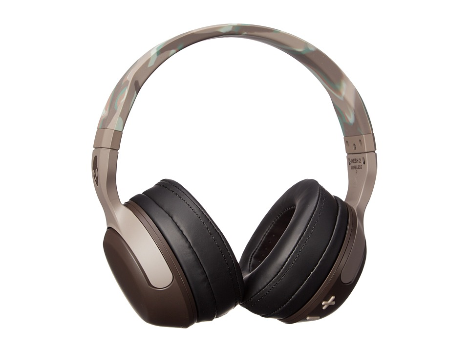 Skullcandy - Hesh Wireless (Camo/Plaid/Brown) Headphones