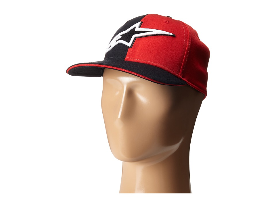 Alpinestars - Halves Hat (Red) Caps