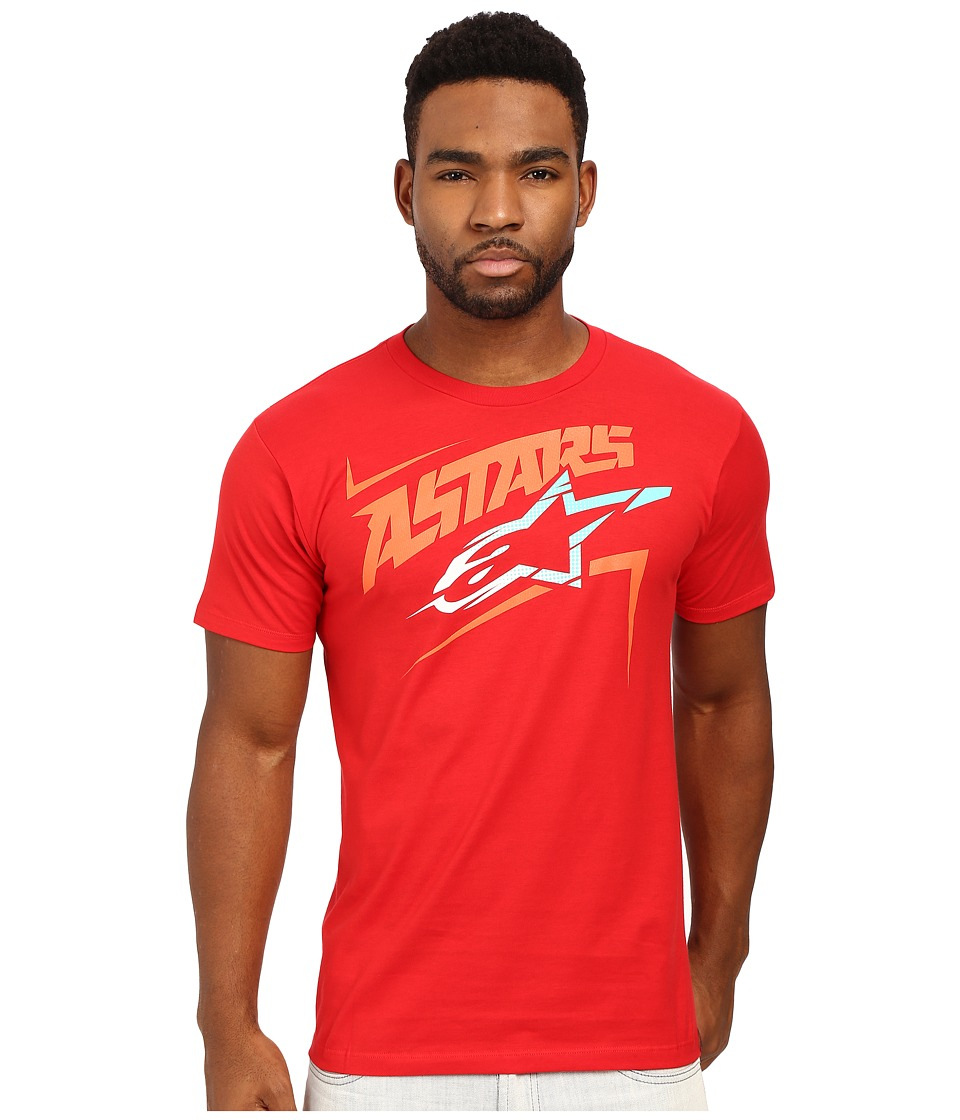 Alpinestars - Camber Tee (Red) Men's T Shirt