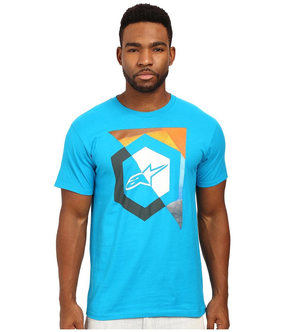 Alpinestars - Emit Tee (Turquoise) Men's T Shirt