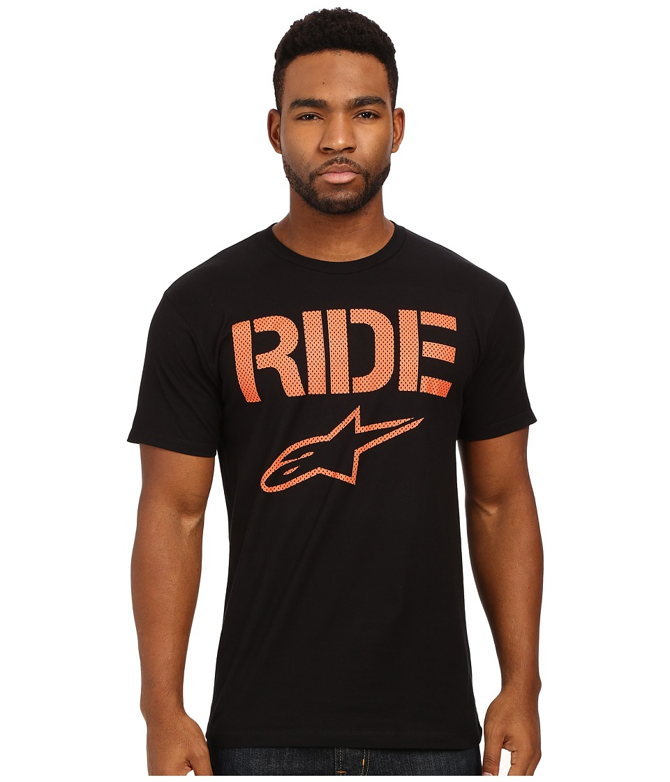 Alpinestars - Ride Mesh Tee (Black) Men's T Shirt