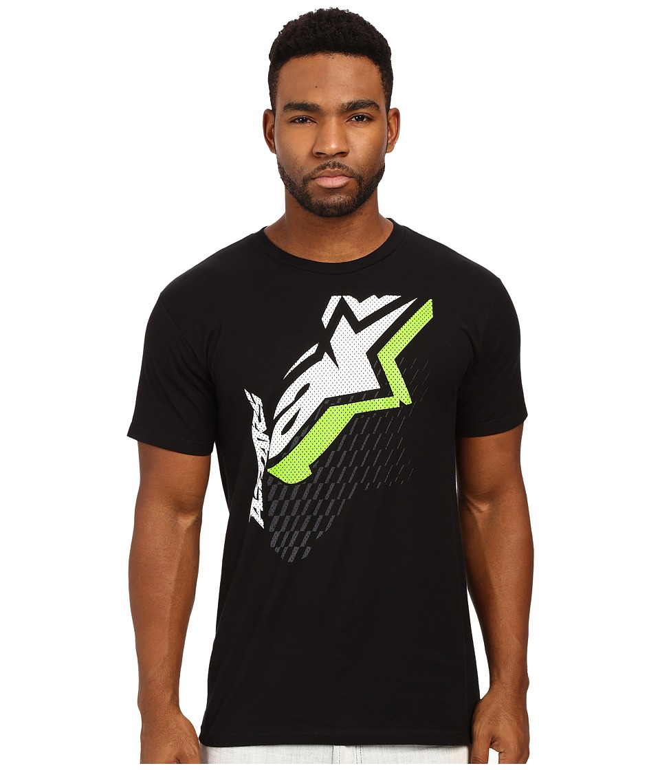 Alpinestars - Offset Tee (Black) Men's T Shirt