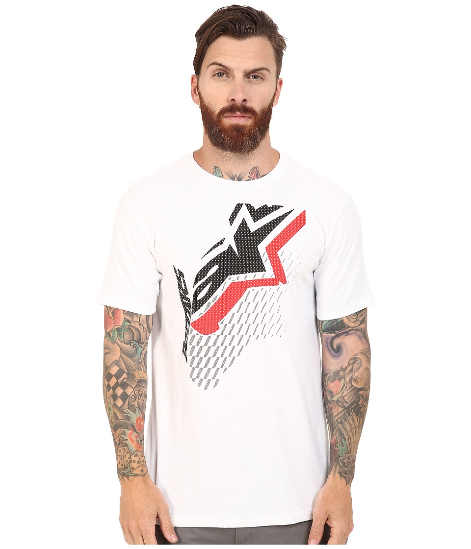 Alpinestars - Offset Tee (White) Men's T Shirt