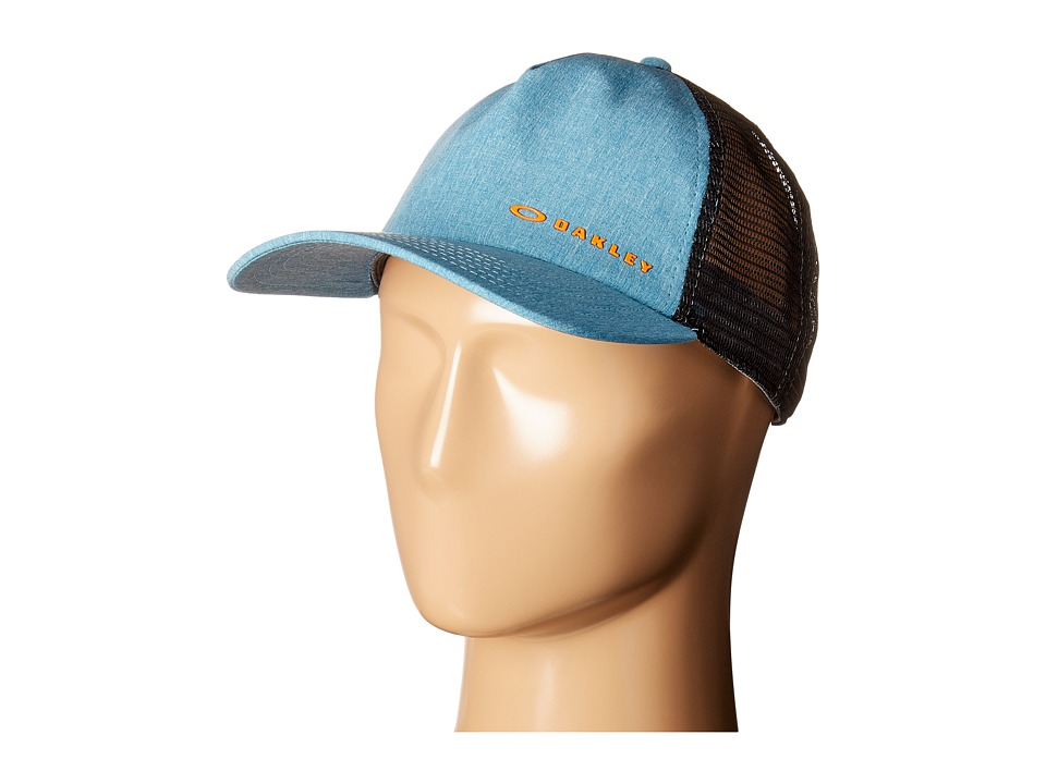 Oakley - K-38 Hydrofree Trucker Hat (Aurora Blue) Caps