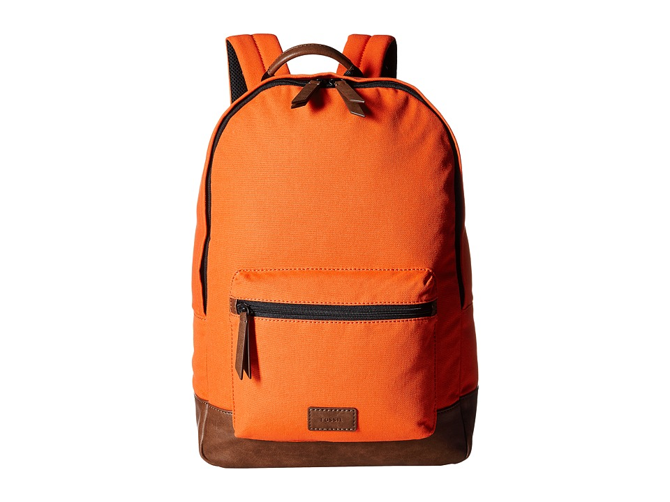Fossil - Estate Backpack (Orange) Backpack Bags