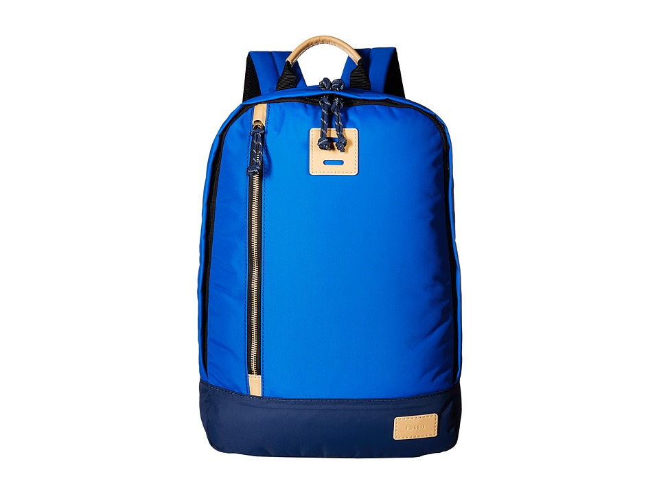 Fossil - Sportsman Backpack (Blue) Backpack Bags