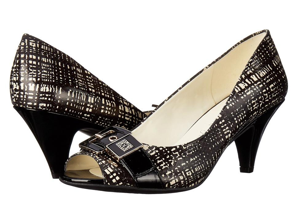 Anne Klein - Dane (Black White/Black Synthetic) Women's Shoes