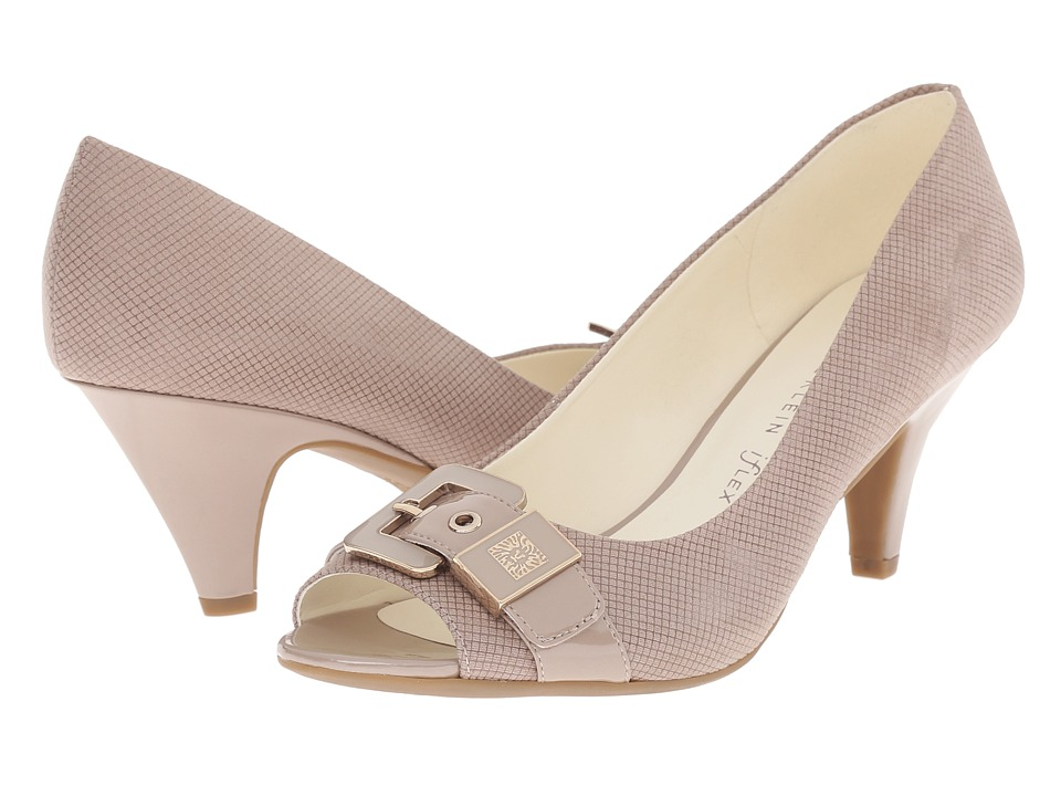 Anne Klein Dane (Medium Taupe/Medium Taupe Fabric) Women