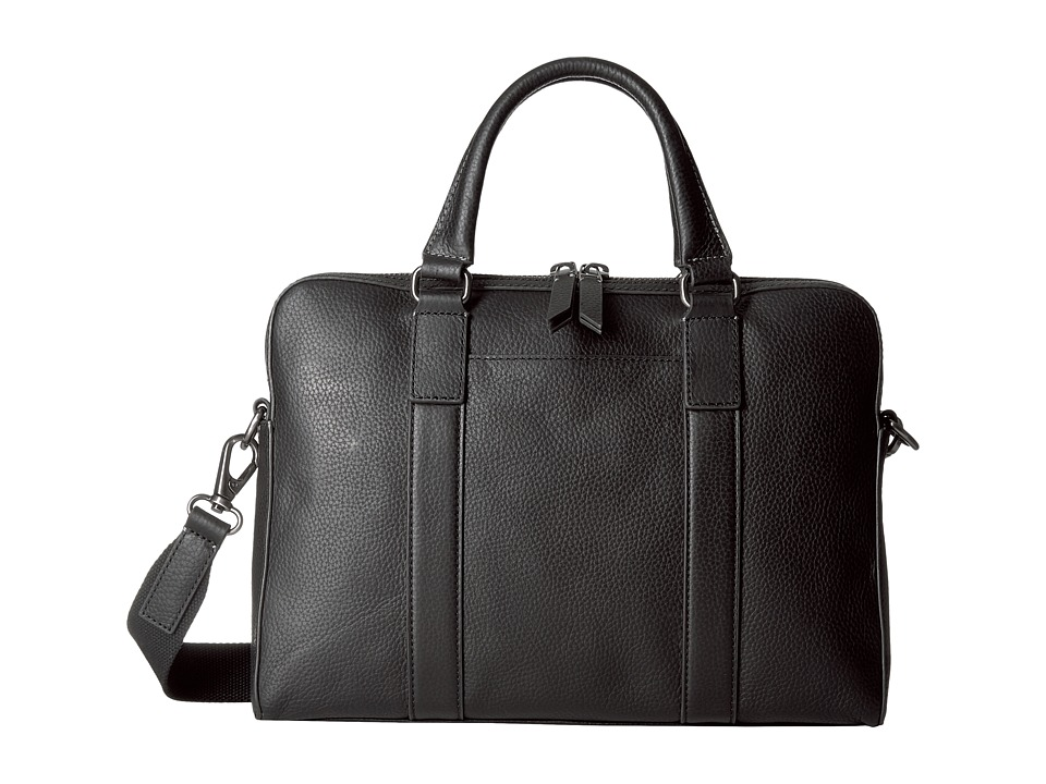 Fossil - Mayfair Top Zip Workbag (Black) Bags