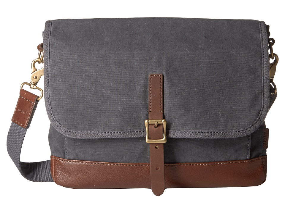 Fossil - Defender Ew City (Grey) Bags