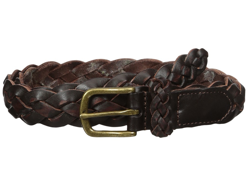 Scotch & Soda - Belt in Braided Leather Quality (77 Bordeaux) Men's Belts