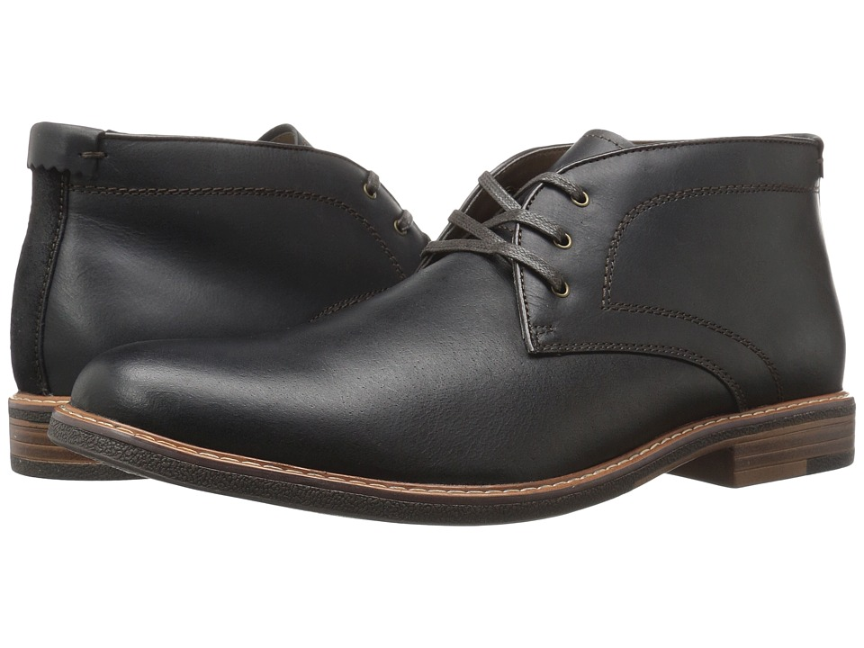 Dockers Longden (Black Burnished Full Grain) Men