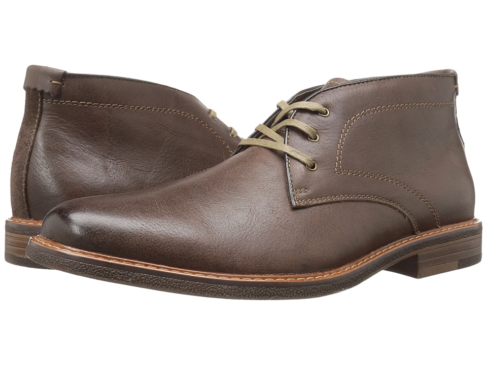 Dockers Longden (Red Brown Burnished Full Grain) Men