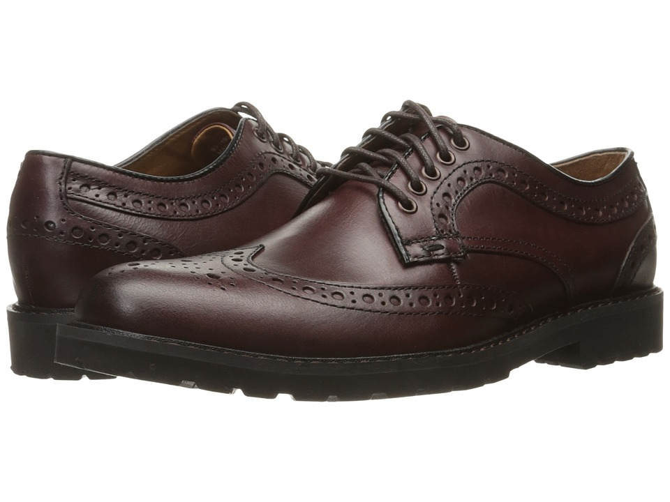 Dockers Benfield (Burgundy Pull-Up Full Grain) Men
