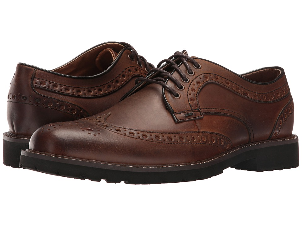 Dockers Benfield (Tan Burnished Crazy Horse) Men