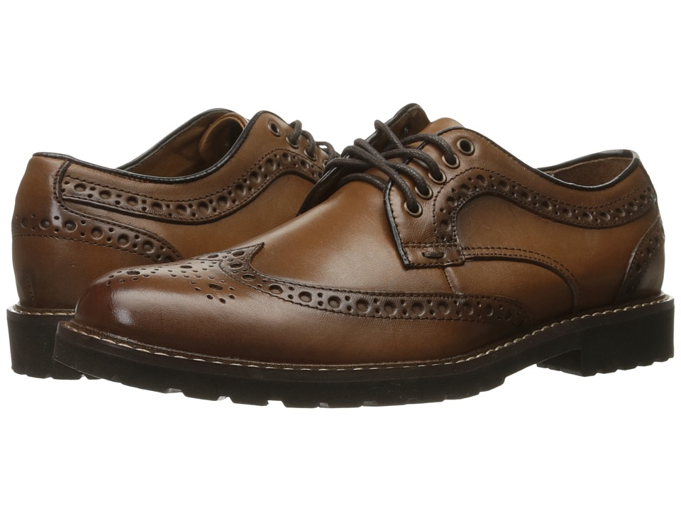 Dockers - Benfield (British Tan Burnished Full Grain) Men's Lace up casual Shoes