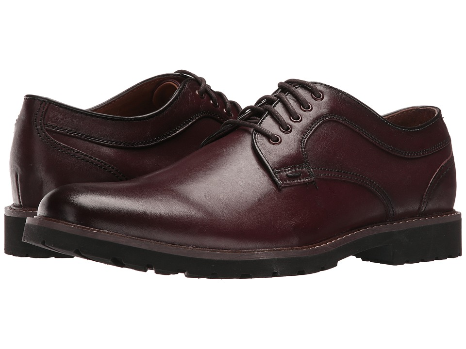 Dockers Baldwin (Burgundy Burnished Full Grain) Men