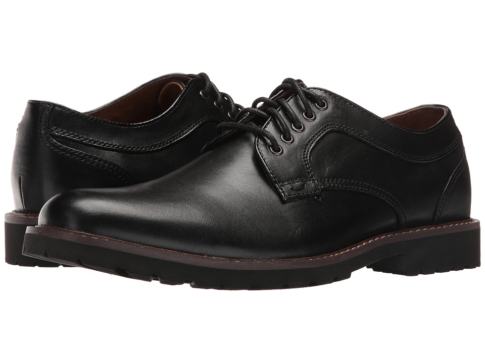 Dockers Baldwin (Black Pull-Up Full Grain) Men