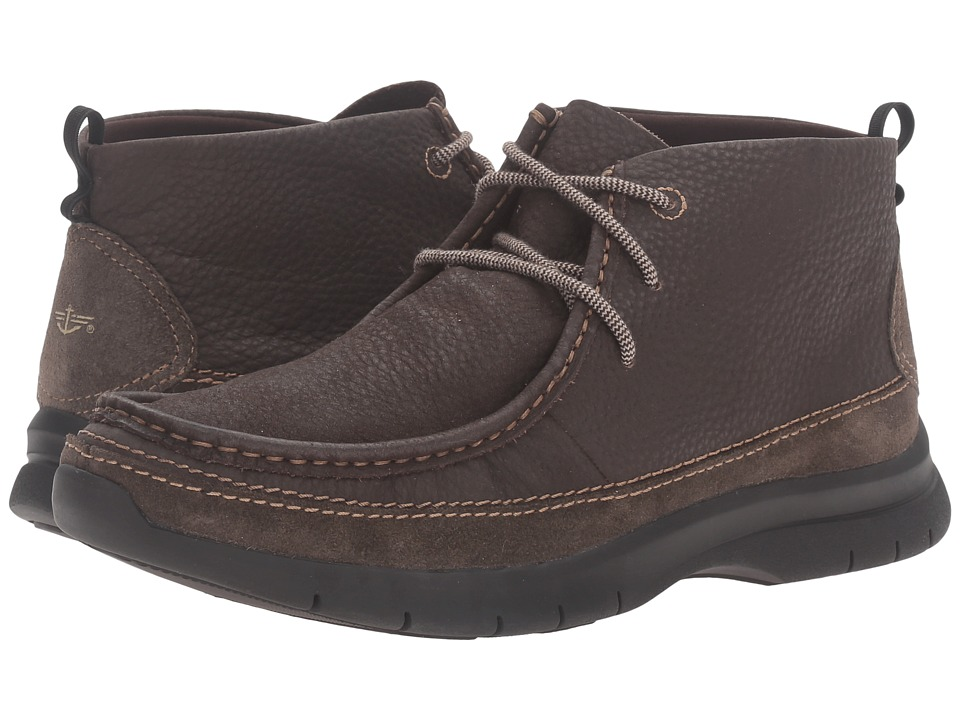 Dockers Woodson (Chocolate Soft Tumbled Full Grain) Men