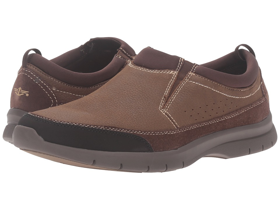 Dockers Garvey (Brown Tumbled Nubuck) Men