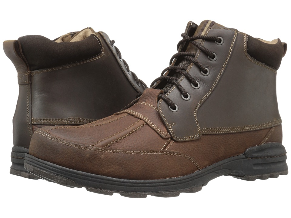 Dockers - Lakewood (Brown/Briar Burnished Crazy Horse) Men's Lace-up Boots
