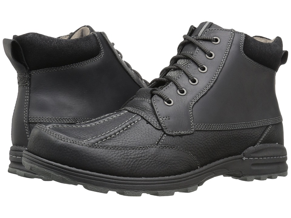 Dockers - Lakewood (Black Oiled Tumbled Full Grain) Men's Lace-up Boots
