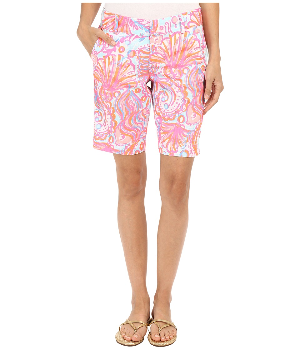 Lilly Pulitzer - Chipper Shorts (Pink Pout Too Much Bubbly) Women's Shorts