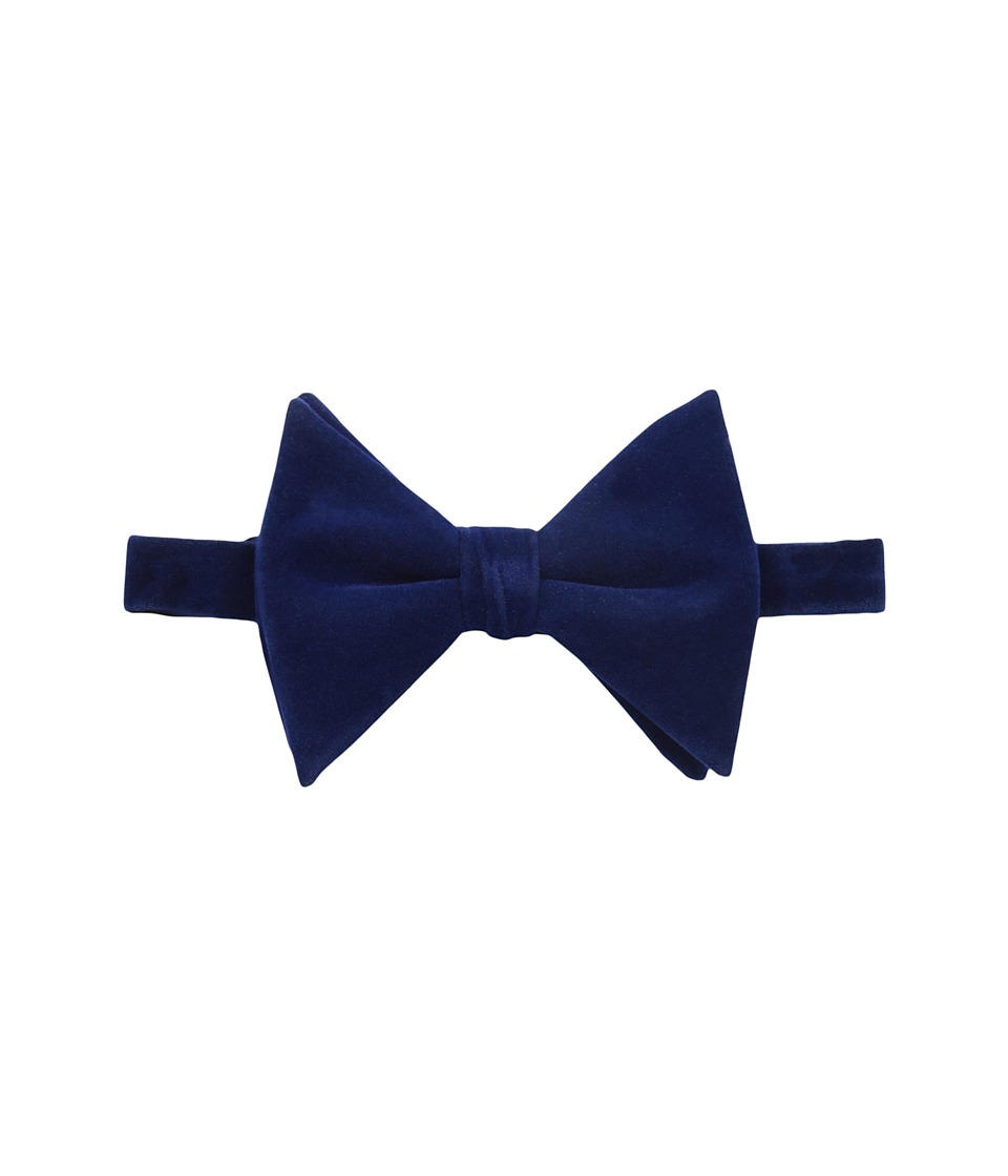 Scotch & Soda - Bowtie in Velvet Quality (909 Cobalt) Ties