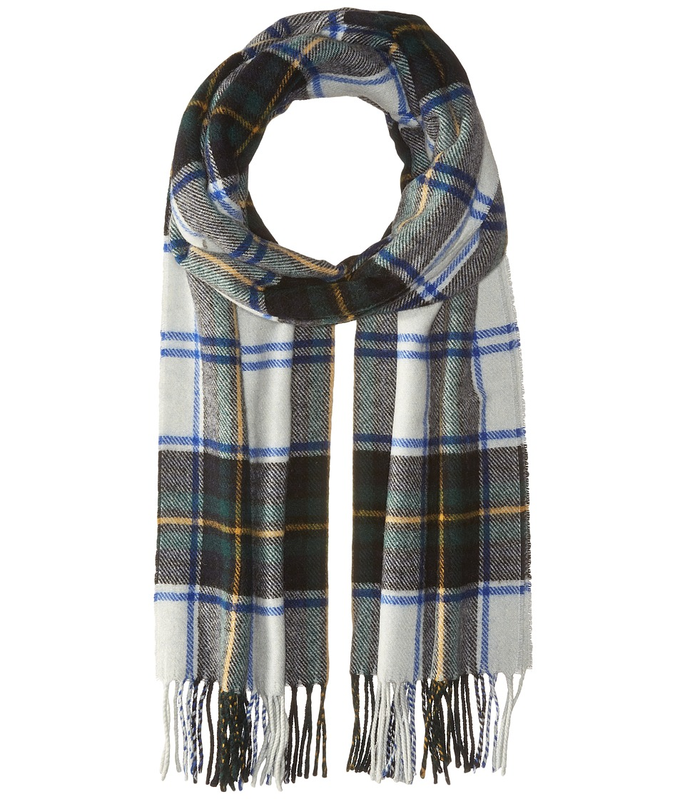 Scotch & Soda - Classic Scarf in Brushed Quality with Check Pattern (17 green navy white) Scarves