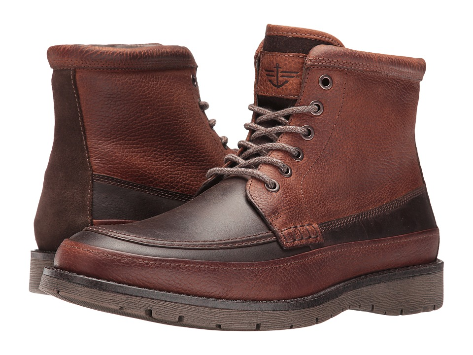 Dockers - Randol (Red Brown Crazy Horse) Men's Boots