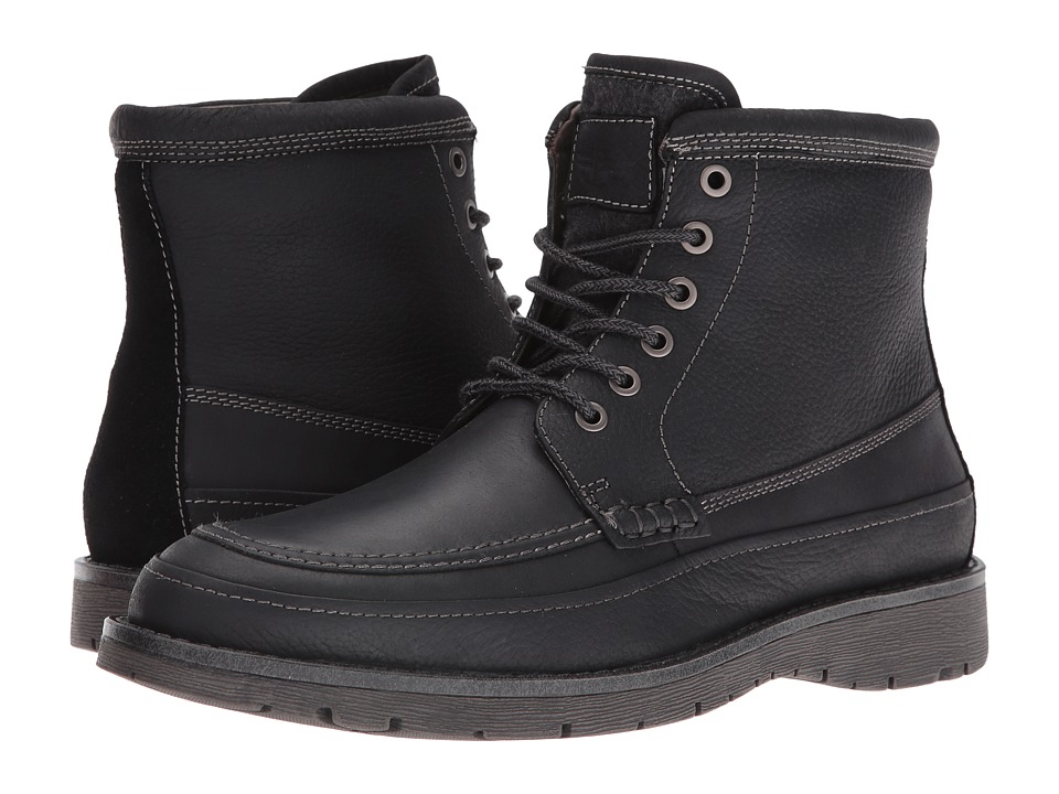 Dockers - Randol (Black Oiled Tumbled Full Grain) Men's Boots