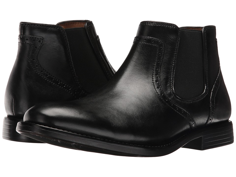 Dockers Westwood (Black Polished Full Grain) Men