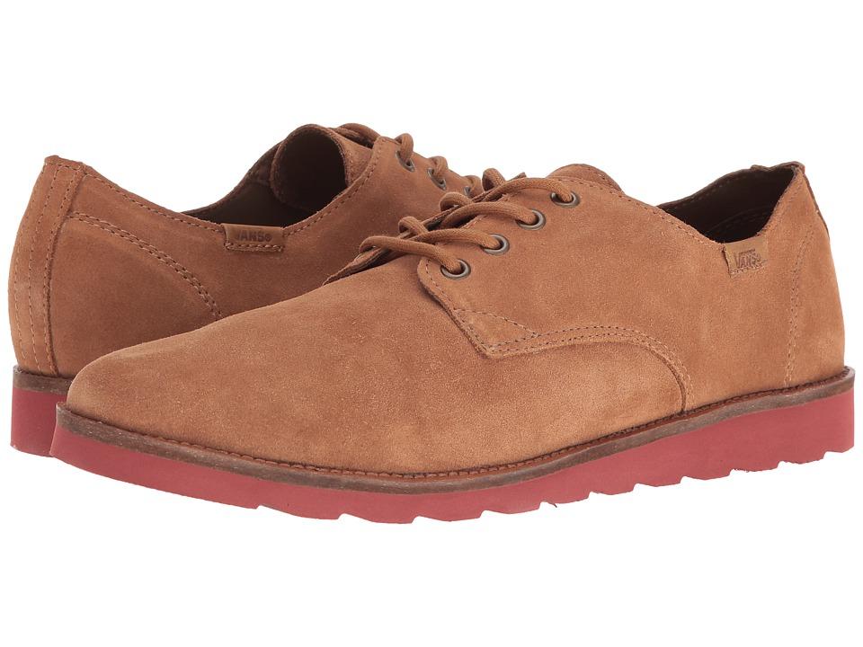 Vans - Desert Point ((Suede) Light Brown/Burnt Henna) Men's Shoes