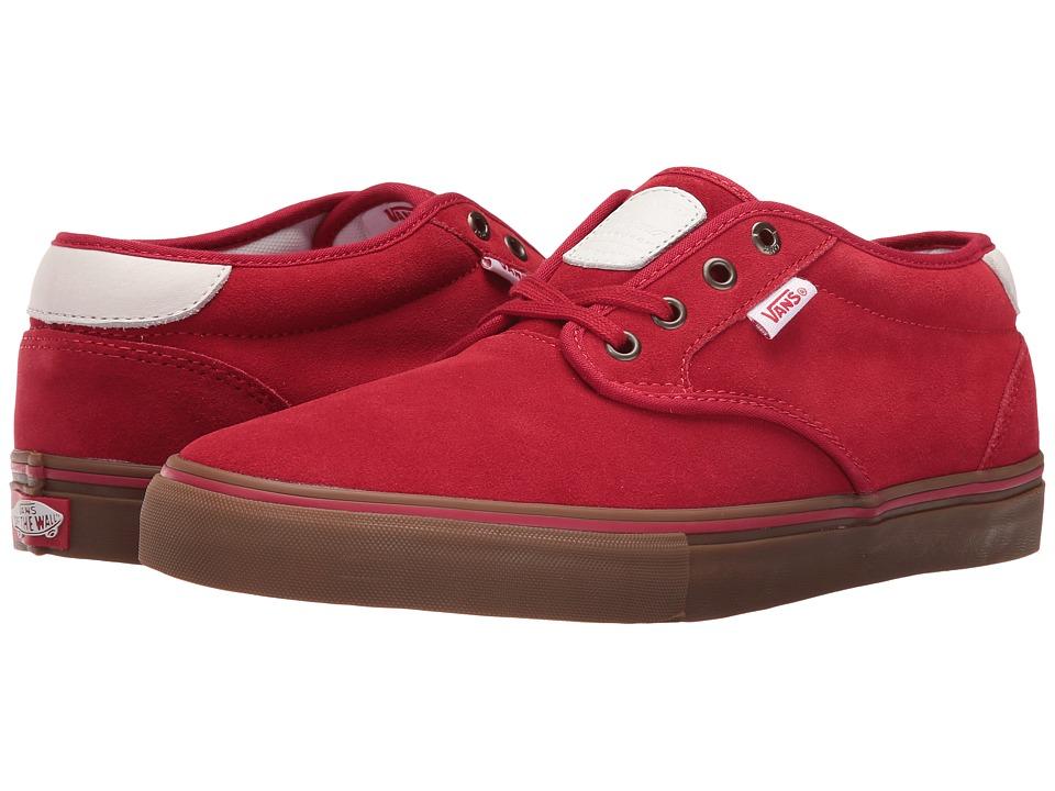 Vans - Chima Estate Pro (Scarlet/Gum) Men's Skate Shoes