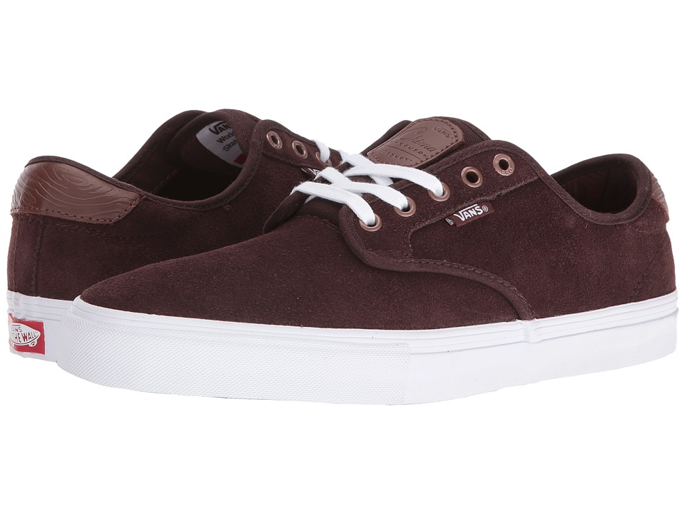 Vans - Chima Pro ((Pacific NW) Coffee Bean) Men's Skate Shoes
