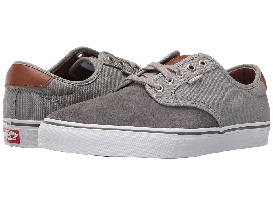 Vans - Chima Pro ((Two-Tone) Pewter/Grey) Men's Skate Shoes
