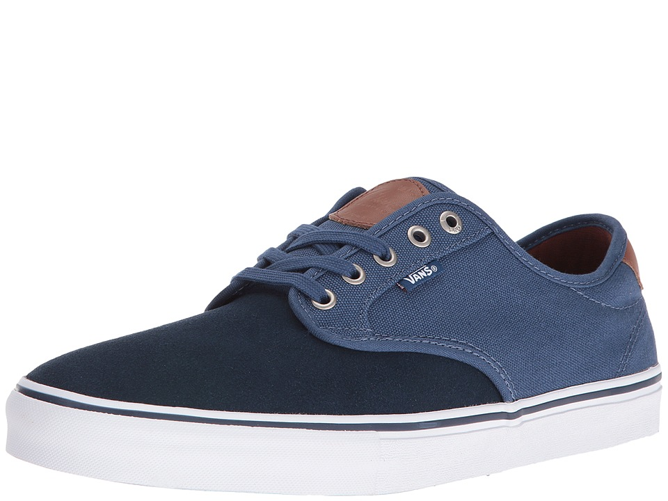Vans - Chima Pro ((Two-Tone) Dress Blues/Ensign Blue) Men's Skate Shoes