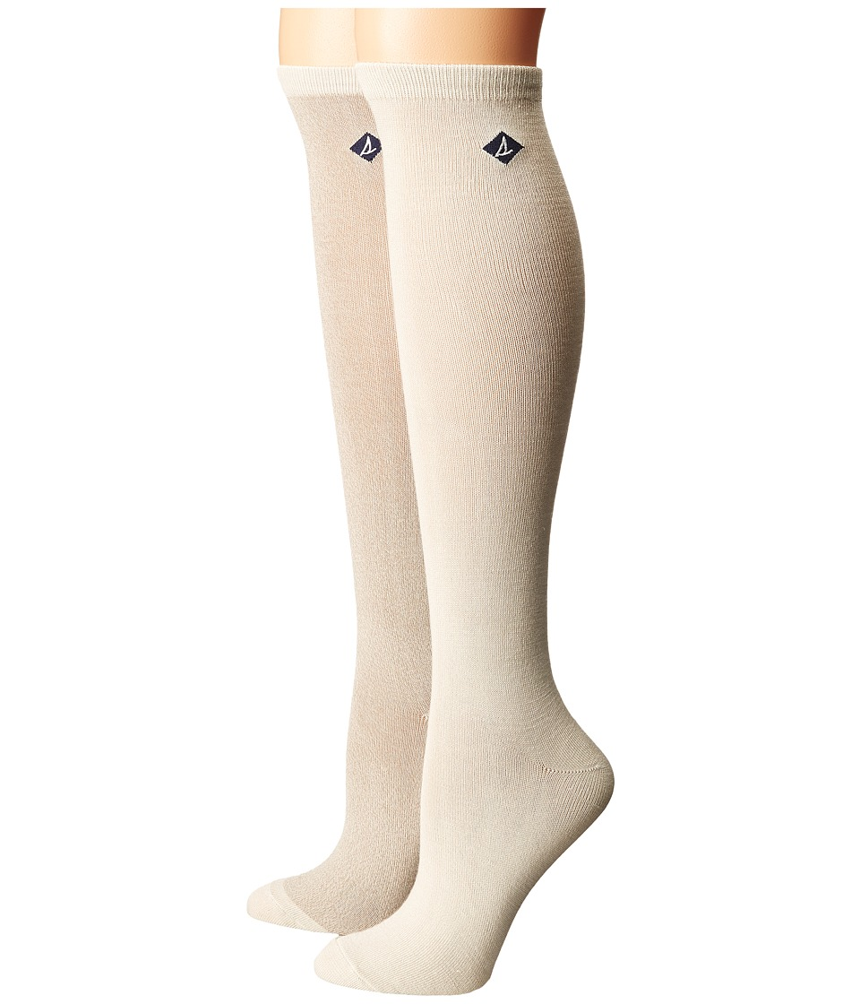 Sperry - Marl Soft and Dreamy Knee High (Ivory) Women's Knee High Socks Shoes
