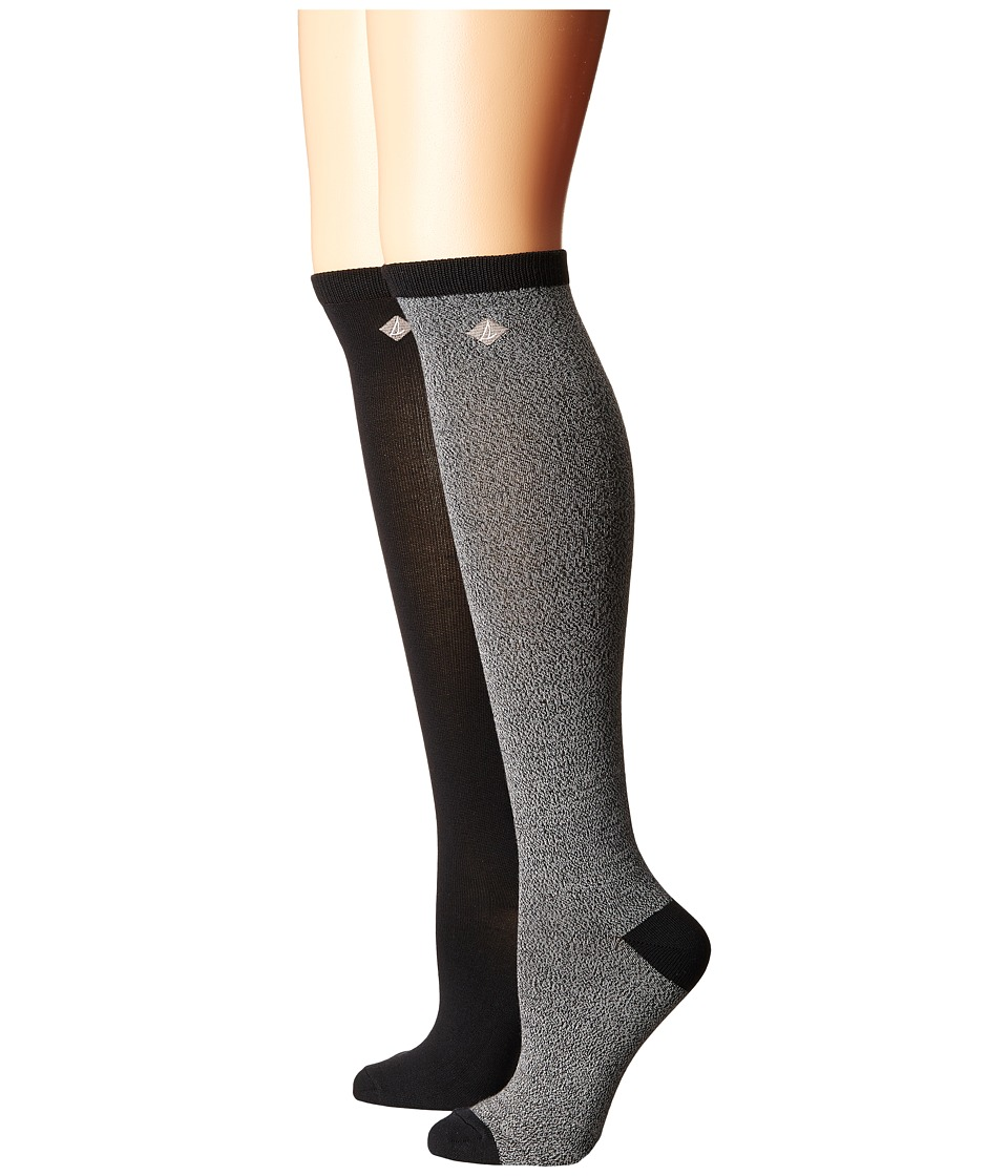 Sperry - Marl Soft and Dreamy Knee High (Gray) Women's Knee High Socks Shoes