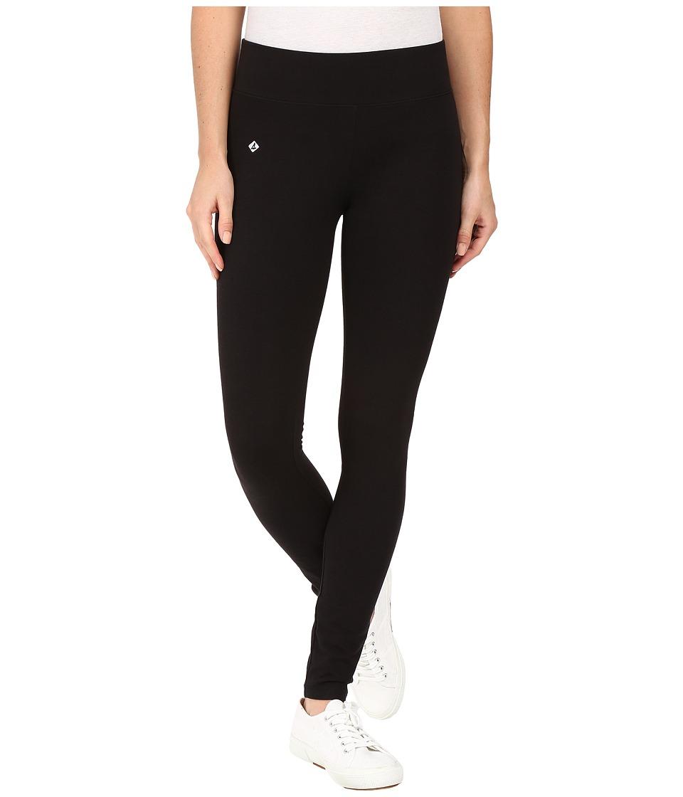 Sperry - Solid Leggings (Black) Hose