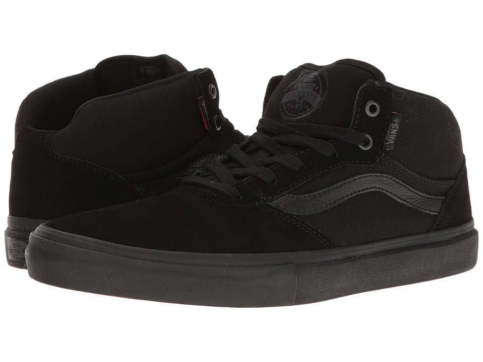 Vans - Gilbert Crockett Pro Mid (Blackout) Men's Skate Shoes