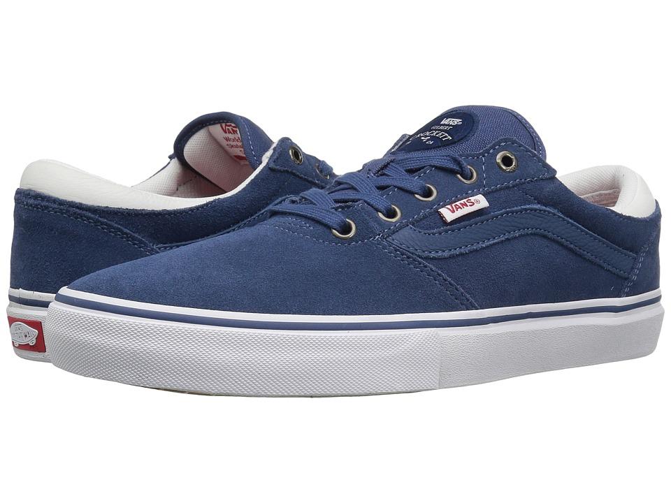Vans - Gilbert Crockett Pro (Ensign Blue/White) Men's Skate Shoes