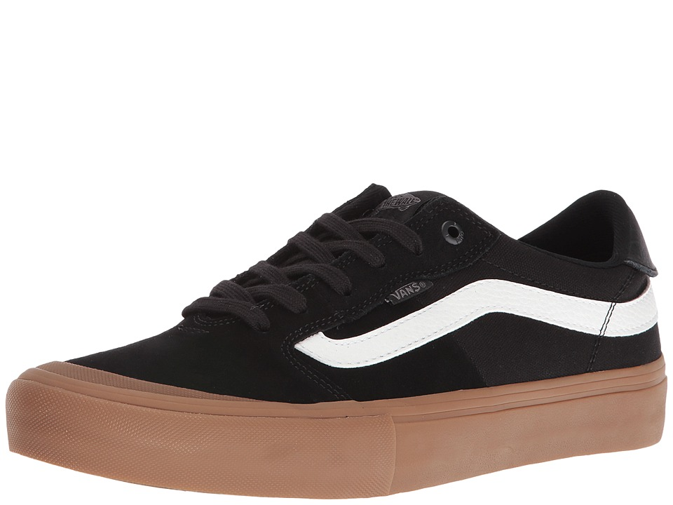 Vans - Style 112 Pro (Black/White/Gum) Men's Skate Shoes