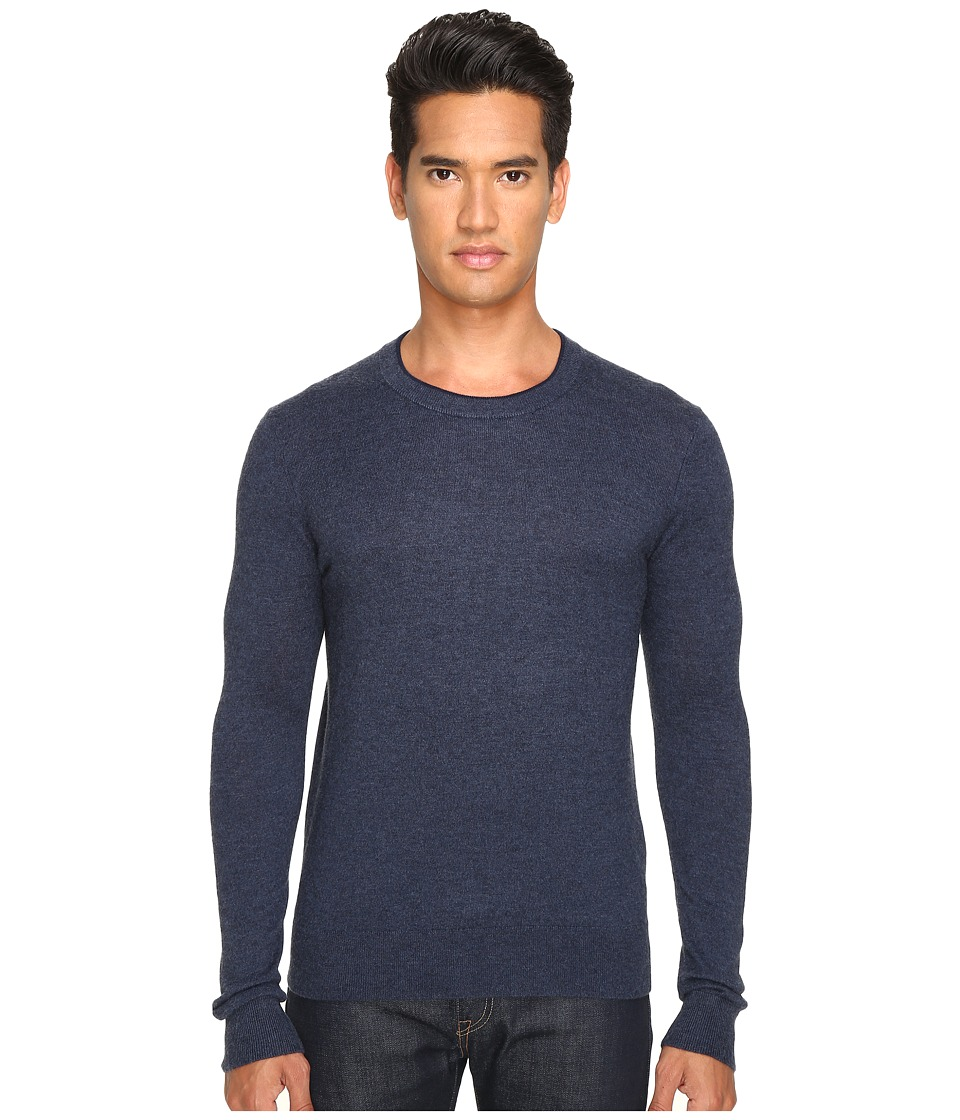 Jack Spade - Jersey Stitch Crew Neck Sweater (Dark Navy) Men's Sweater